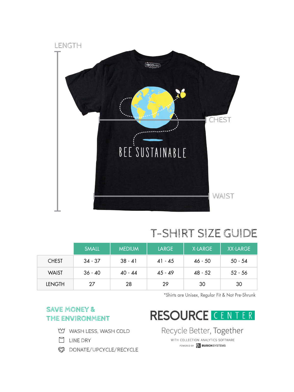 Bee Sustainable T Shirt